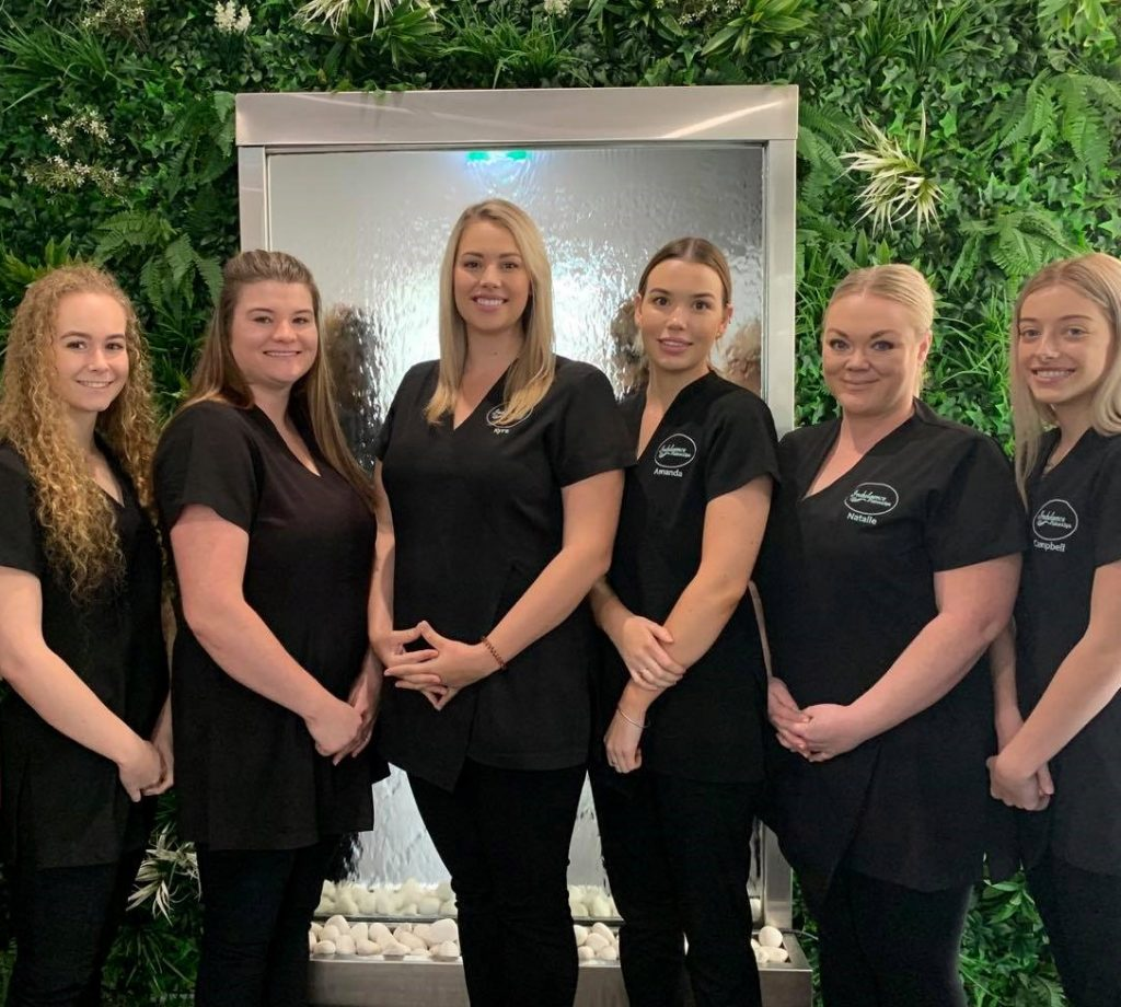 Team Photo 2020 - Indulgence Salon & Spa Singleton Beauty Salon Massage Facial Makeup Artist Hair Removal Hunter Valley Singleton Float Therapy
